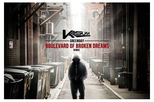 download boulevard of broken dreams video