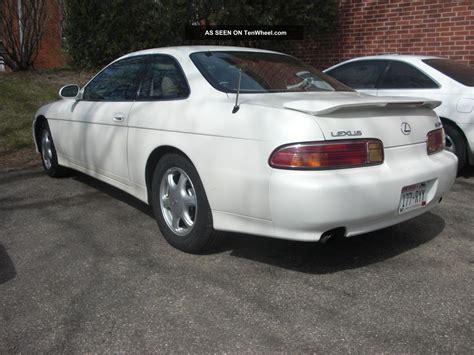 lexus coupe white 1997 lexus sc300 pearl white