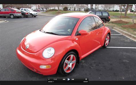 2002 Volkswagen Beetle Turbo Snap Orange Limited Edition