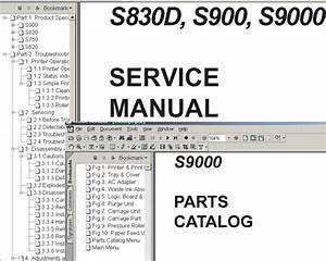 Canon Lbp2900    Lbp3000 Service Manual   Parts Catalog