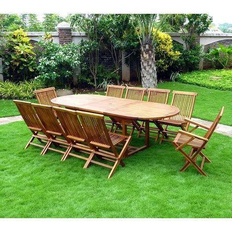 fauteuil pour 2 personnes salon de jardin en teck ensemble pour 10 personnes 8 chaises 2 fauteuils pliants 30