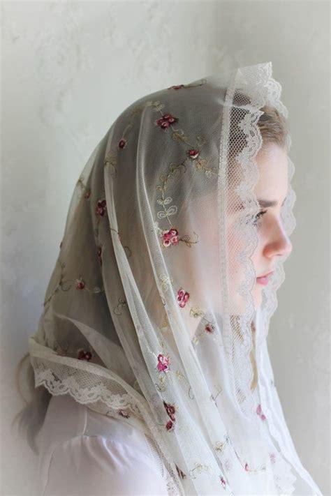 prayer veils scarves shawls images  pinterest