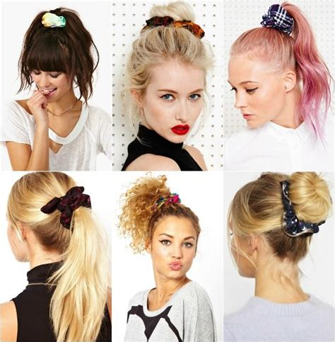 90s Hairstyles Scrunchies by Scrunchies Galore Its Coming Back Bitches Hair