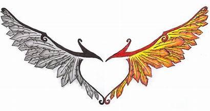 Phoenix Wings Tattoo Sarastar Deviantart Clipart Alas