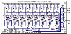 Schematic Diagram Relay Driver Board Project