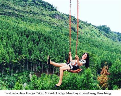 info lengkap  wahana wow wisata  lodge maribaya