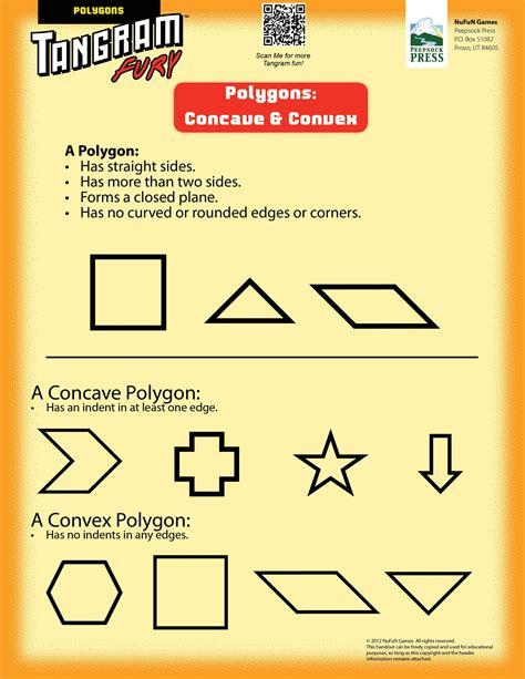 concave and convex polygons tangrams tangrams tangram