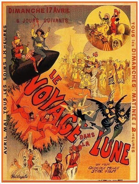 george melies poster le voyage dans la lune 1902 georges m 232 li 233 s cine