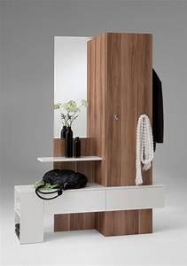 Garderobe Mit Schrank : garderobe garderobenschrank schrank mit spiegel mod g124 nussbaum ebay ~ Yasmunasinghe.com Haus und Dekorationen