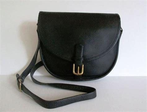Details About Coach Nyc Bonnie Cashin Black Leather Saddle