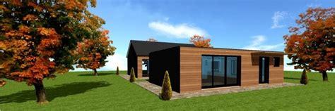 maison en bois cle en maison moderne