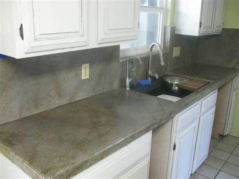 concrete kitchen cabinets designs concrete countertop kits judy s house updates 5669