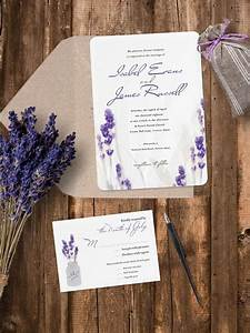 luxury pearl shimmer lavender wedding invitation With lavender themed wedding invitations