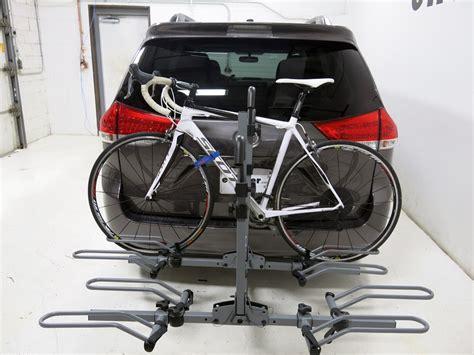 platform bike rack sportrack 4 bike rack for 2 quot hitches platform style