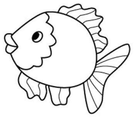 fish coloring pages for preschool and kindergarten 854 | fish coloring page for kids 2