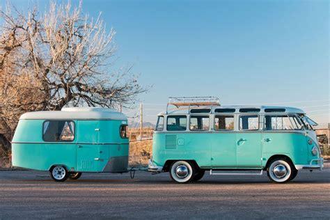 volkswagen van vintage volkswagen van has a rare matching teal cer