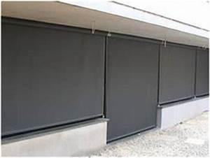 Store Vertical Exterieur Grande Dimension : le store vertical sans guide pour ext rieur degrif store ~ Melissatoandfro.com Idées de Décoration
