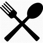 Fork Eat Spoon Eating Transparent Clipart Silhouette