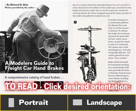 Modelers Guide To Freight Car Hand Brakes