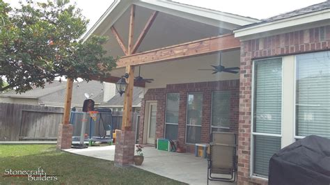outdoor covered patio builders  houston stonecraft