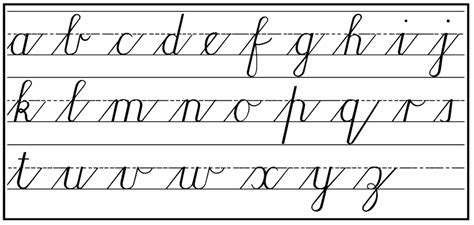 currsive writing cursive handwriting step by step for beginners practical pages