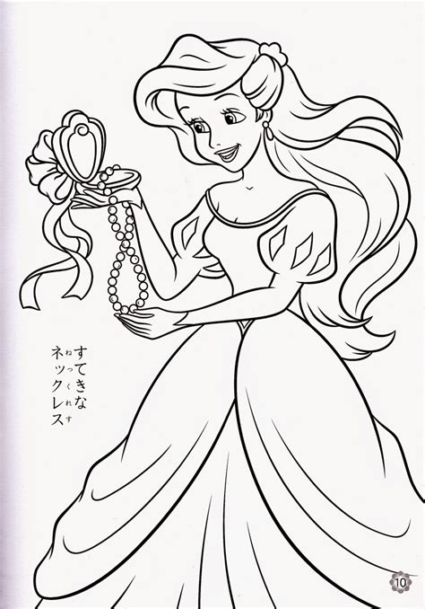 coloring pages ariel   mermaid  printable coloring pages