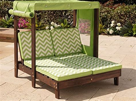 chaise cing go sport kidkraft outdoor chaise lounge with canopy toys