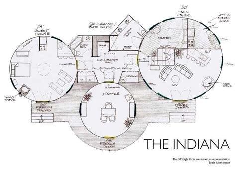 elegant yurt home floor plans  home plans design