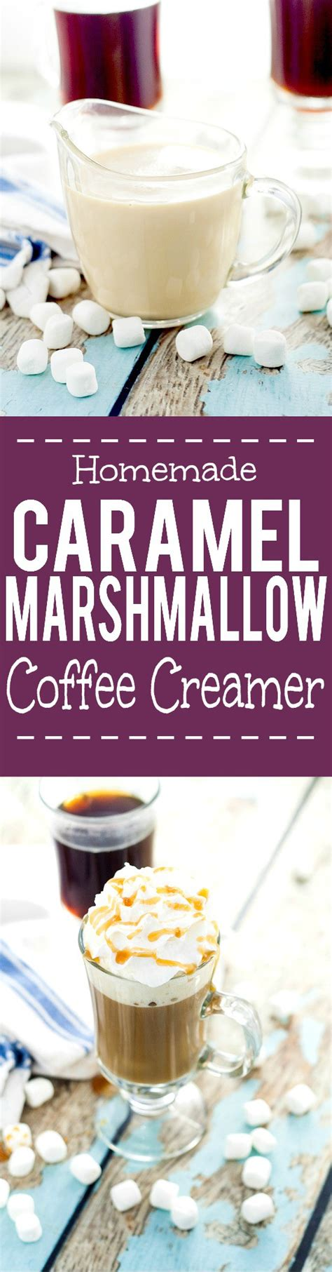 Just so you know, if you click on a product on roastycoffee.com and decide to buy it, we may earn a small commission. Homemade Caramel Marshmallow Coffee Creamer | The Gracious ...