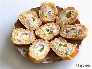 Idée Repas Nombreux : baguette farcie ap ro grignotage baguette farcis ~ Farleysfitness.com Idées de Décoration