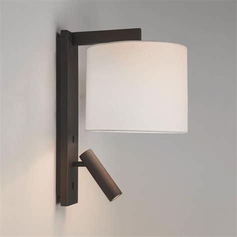 astro lighting 7457 ravello led reader dual wall light in