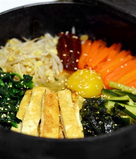 bibimbap recipe vegetarian recipe korean dolsot bibimbap the kitchn