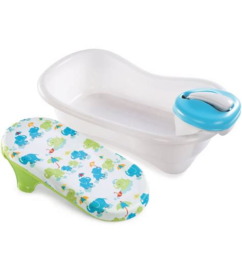 summer infant spa tub summer infant newborn to toddler bath center shower
