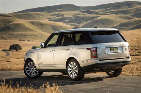 2018 Land Rover Range Rover Supercharged Rear View Photo 20