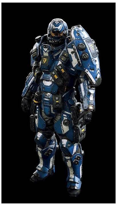 Planetside Artstation Armor Busby Armour Doku Ranulf