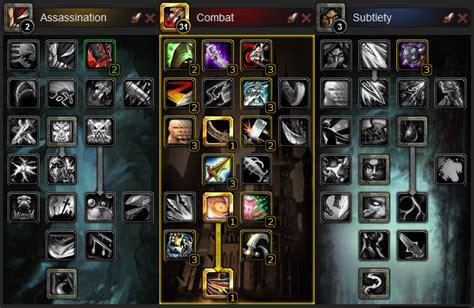 rogue leveling build wow combat cataclysm talent solo builds guides