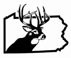 pa deer hunting decal sticker With kitchen cabinets lowes with penn state car sticker