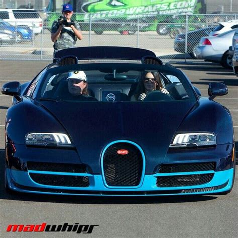 Some reports however said the car cost $5.8m, suggesting she must have bought the new bugatti model. Kendel Jenner driving Bugatti Veyron | Bugatti veyron, Veyron, Bugatti
