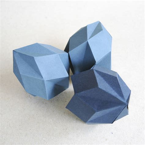 origami template diamond  bonnie  bell