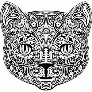 Mandalas De Gatos Para Colorear  Ud83e Udd47 F U00e1ciles Y Coloreados