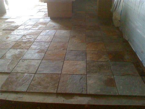 slate flooring modern house