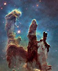 Hubble Telescope Pillars of Creation