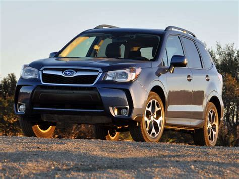 subaru forester xt review  quick spin