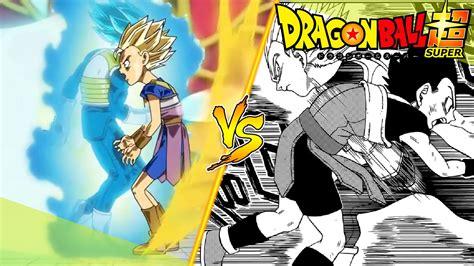 Anime Dragon Ball Dragon Ball Super Manga Vs Anime 3 Youtube