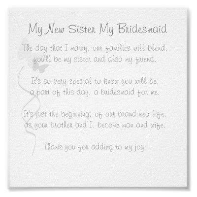 bridesmaid poem print bridesmaid poems poem  messages