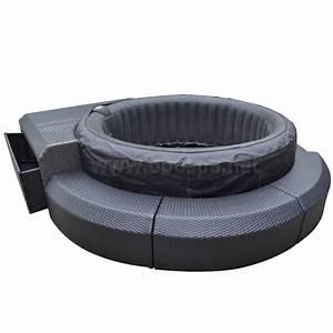 Bain De Soleil Gonflable : mobilier r sine tress e pour spa gonflable boospa ~ Premium-room.com Idées de Décoration