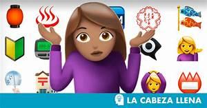 Este es el significado de los emojis más raros La cabeza llena