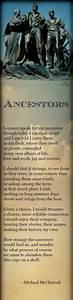 Poem: Ancestors... Family Genealogy Quotes