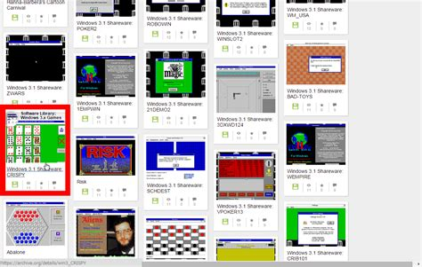 Windows 3.1のゲームが無料でブラウザからプレイ可能に