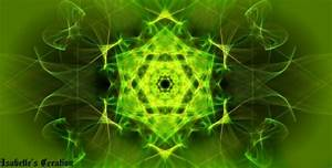 Lime Green Abstract ♥ Fantasy & Abstract Background
